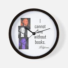 Books:  Wall Clock