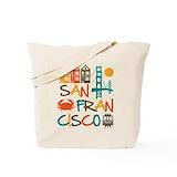 San francisco Canvas Bags