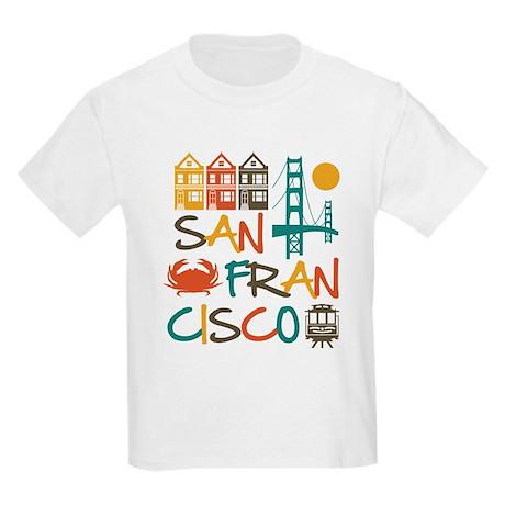 San francisco kids light t shirt san francisco t shirt for Bespoke shirts san francisco