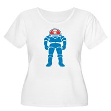 Space Man Plus Size T-Shirt