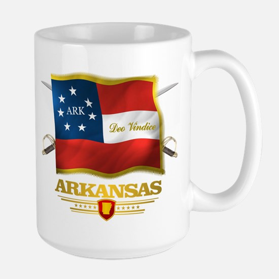 Arkansas -Deo Vindice Mug