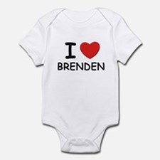 I love Brenden Onesie