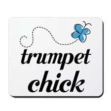Cute Trumpet Chick Mousepad
