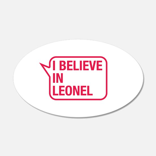 I Believe In Leonel Wall Decal