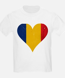 Romania heart T-Shirt