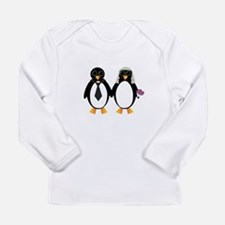 Newlywed Penguins Long Sleeve T-Shirt