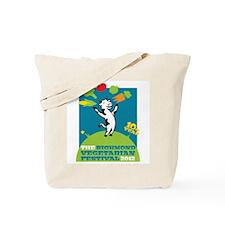 Richmond Vegetarian Festival 2012 (blue) Tote Bag