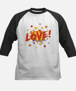 Love Bang Kids Baseball Jersey