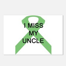 I MISS MY UNCLE Postcards (Package of 8)