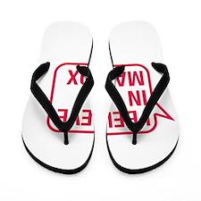 I Believe In Maddox Flip Flops