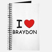 I love Braydon Journal