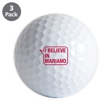 I Believe In Mariano Golf Ball