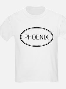 Phoenix Oval Design Kids T-Shirt