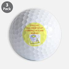 egg drop soup Golf Ball