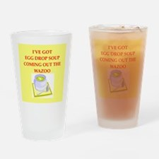 egg drop soup Drinking Glass