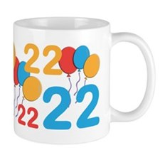 22 Years Old - 22nd Birthday Mug