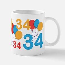 34 Years Old - 34th Birthday Mug