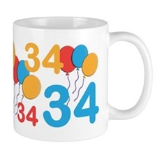 34 Years Old - 34th Birthday Mug Mugs