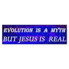 Evolution Is a Myth Bumper Bumper Sticker