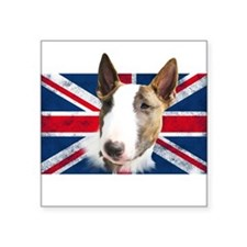 Bull Terrier UK grunge flag Sticker