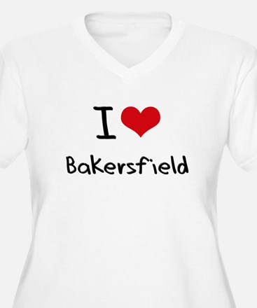 I Heart BAKERSFIELD Plus Size T-Shirt