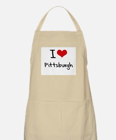 I Heart PITTSBURGH Apron