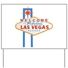 Las Vegas Sign Yard Sign
