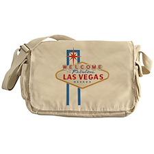 Las Vegas Sign Messenger Bag