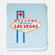 Las Vegas Sign baby blanket