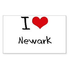 I Heart NEWARK Decal