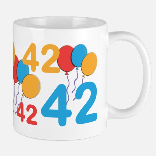 42 Years Old - 42nd Birthday Mug