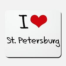 I Heart ST. PETERSBURG Mousepad