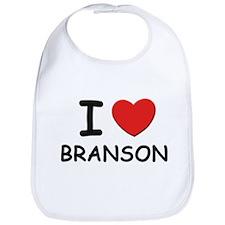 I love Branson Bib