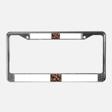 Barrel Cacti License Plate Frame