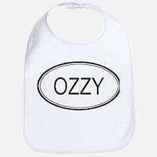 Ozzy Oval Design Bib