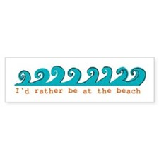 waves Bumper Bumper Sticker
