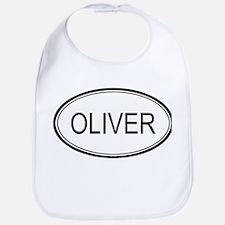 Oliver Oval Design Bib