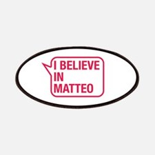 I Believe In Matteo Patches