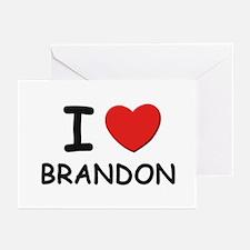 I love Brandon Greeting Cards (Pk of 10)