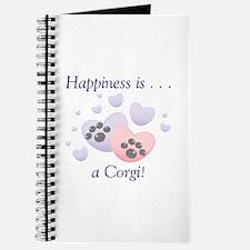 Happiness is...a Corgi Journal