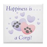 Welsh corgi Drink Coasters
