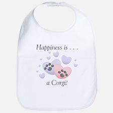 Happiness is...a Corgi Bib