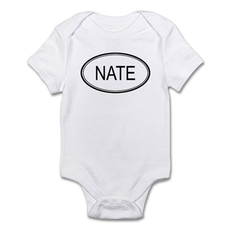 Nate Oval Design Infant Bodysuit