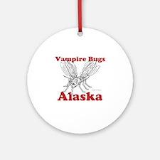 Vampire Bugs Alaska Ornament (Round)