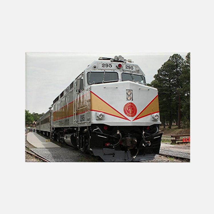 Railway locomotive, Grand Canyon, Arizona, USA 4 R