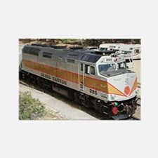 Railway locomotive, Grand Canyon, Arizona, USA 5 R