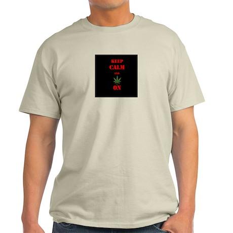 Keep Calm and Pot on T-Shirt