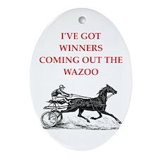 harness racing Ornament (Oval)