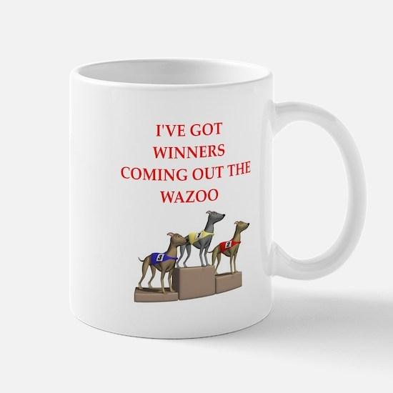 dog racing Mug