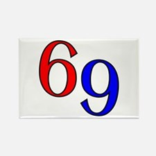 Bold 69 Rectangle Magnet (10 pack)